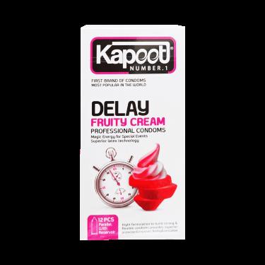 کاندوم delay fruity cream 12 pcs کاپوت