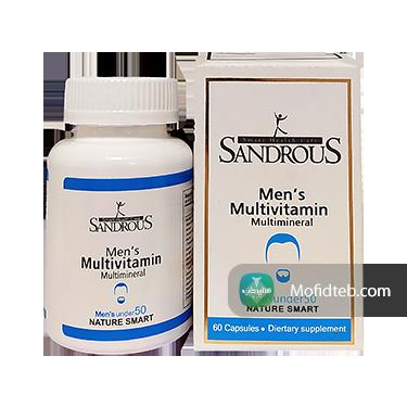 کپسول مولتی ویتامین آقایان زیر 50 سال سندروس