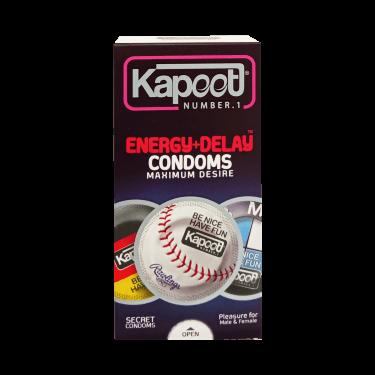کاندوم energy + delay secret 10 pcs استیکری کاپوت
