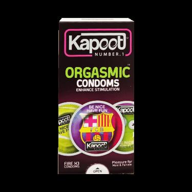 کاندوم orgasmic fire X3 10 pcs استیکری کاپوت